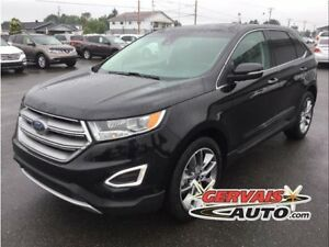 Ford Edge Titanium V6 AWD Navigation Cuir Toit Ouvrant MAGS 2016