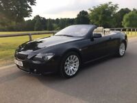 BMW 645 Ci Automatic 6 series convertible 12 months mot
