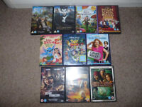 *Reduced to Clear* 10 x Walt DISNEY DVD Films, inc.Pirates Caribbean (x2), Maleficent,Lone Ranger