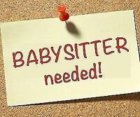 Looking for a Babysitter