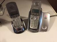 Panasonic phones x 2 answer machine