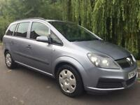 VAUXHALL ZAFIRA 7 SEATER FULL MOT FIRST TO SEE WILL BUY