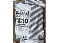 QC10 Rapid Set Concrete 25kg Bag (20 Bags available £5 Per Bag)