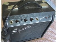 Used Squire SP 10 practice amp in good working order