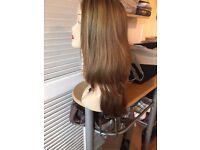 Human Hair Bandfall Wig/Hair Piece