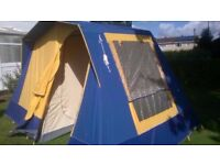 Sunncamp Villa 4 Frame Tent Swap for Electric Guitar