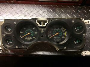 Mustang early 80's GT cluster