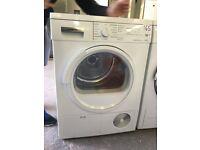 Siemens WT46E388GB Freestanding Condenser Dryer