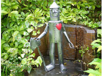 Wizard Of Oz themed TIN MAN Garden Ornament DELIVERY AVAILABLE