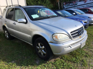 2003 Mercedes-Benz M-Class ML500 SUV, Crossover