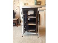 Gelert 4 shelf camping storage unit