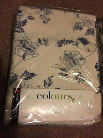 FLORAL PRINT CURTAINS FROM B&Q