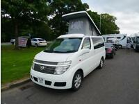 2004 NISSAN ELEGRAND 4 Berth Campervan Conversion