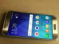 Samsung galaxy s6 gold andriod 32GB unlocked to all sim networks