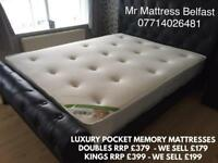 ✅ HALF PRICE ~ 1000 POCKET SPRUNG ~ MEMORY TOP ~ HOTEL FIRM MATTRESSES ~ 5 STAR REVIEWS