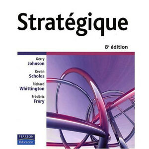 Strategique 8e Johnson Scholes Whittington Frery