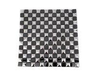 Black & Silver Mosaic tile RRP £19.99