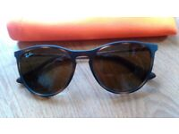 Brown Rayban sunglasses for children (or adults with thin face) - £5. Perfect state.