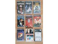9 x UMD Video movies for Sony PSP