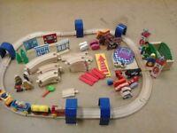 95 piece Brio zoo railway set