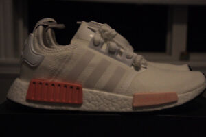 NMD White Rose Sz 8.5W DS