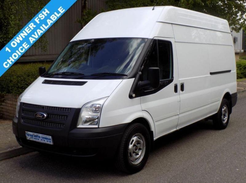 61(12) FORD TRANSIT 350 LWB HIGH ROOF 2.2 FWD 125 BHP 6 SPEED EURO 5