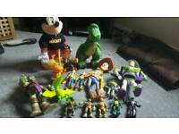 Job lot of toys and figures