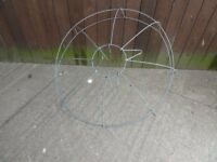 Large Wire Hanging Basket Frame Approx 75cm wide Delivery Available