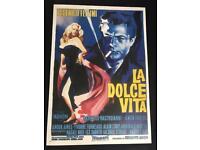 La Dolce Vita movie poster