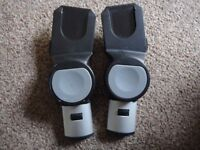 ICandy Apple Pushchair adapters for Maxi cosi Besafe Cybex car seats connect a Car seat to the frame