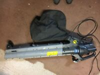 Blow Vac Mac Allister Eco MBV2800 Corded 230-240V Garden as new, few scratches,•Variable speed --
