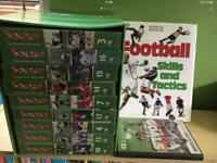 FOOTBALL SKILLS & TACTICS 15 VIDEO BOOK & DVD