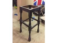 Traditional colonial high pub bar stools. Frames only. No seat boards