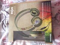 Brand new house of Marley headphones