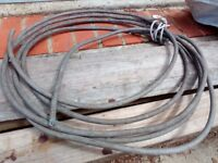 Grey heavy duty power cable approx 5m