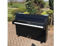 Zender black upright piano |free Delivery | Belfast pianos