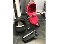 Silver cross travel system pushchair car seat isofix