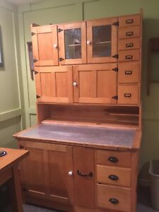 1900  large Hoosier Cabinet for farm style kitchen
