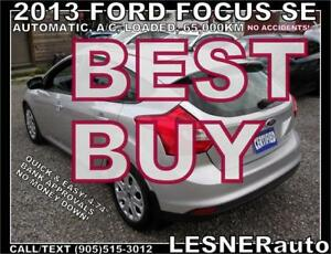 2013 FORD FOCUS SE SE HATCH -AUTO LOADED SPOLILER- NO ACCIDENTS!