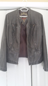 Leather Look Man's Jacket