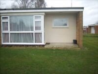 2 bed holiday chalet for hire in Hemsby Norfolk 2 August weeks available