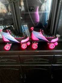 Roller skates size 8 adults