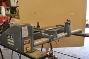 "12""  Craftsman wood lathe"