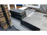 75 welsh roof slate tiles 50 x 25 cm