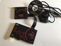 Sound blaster sound card