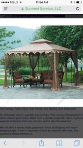 New in bags replacement gazebo