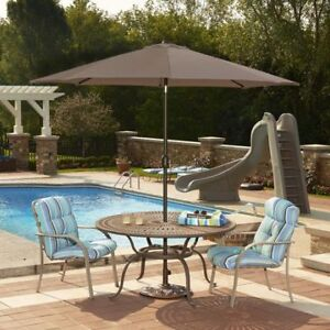 Moving sale! Patio umbrella and table