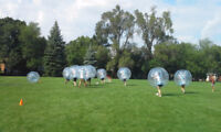 SPOTS OPEN FOR BUBBLE SOCCER THIS SUNDAY!