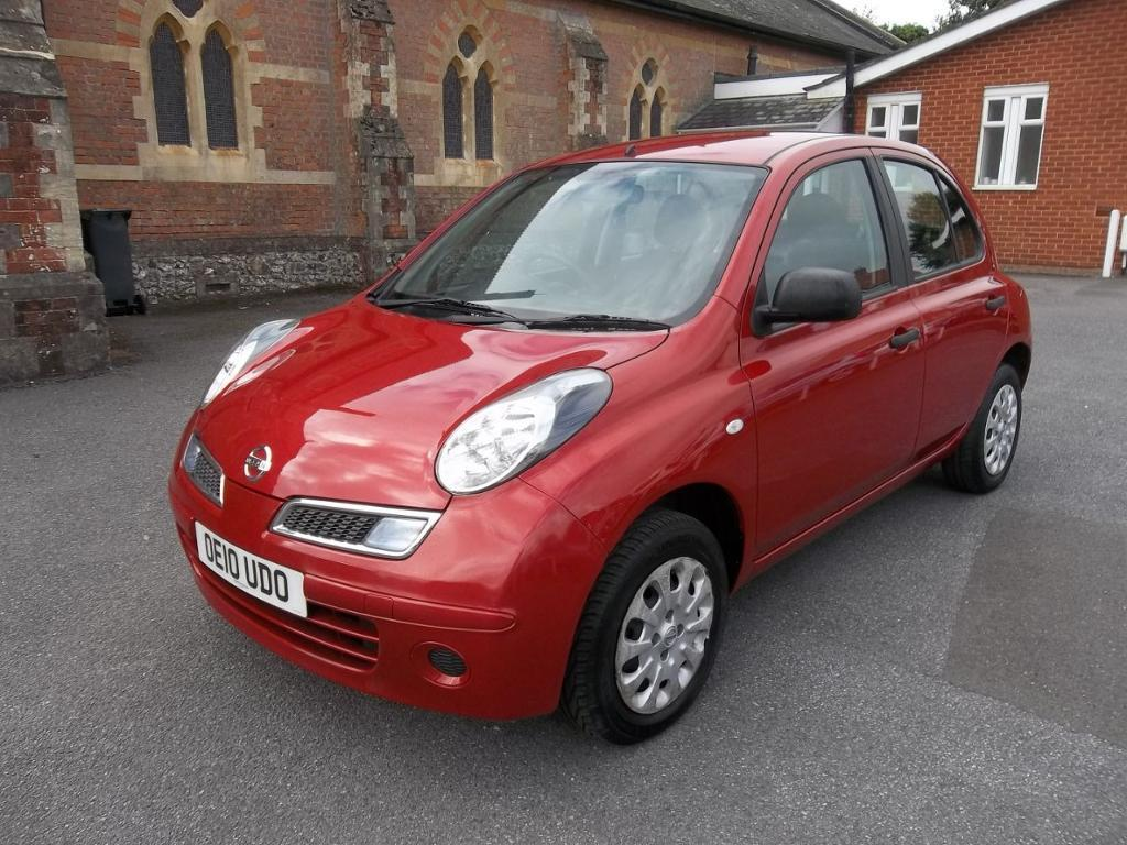 nissan micra 1 2 80 visia 5dr emotion red 2010 in sidmouth devon gumtree. Black Bedroom Furniture Sets. Home Design Ideas