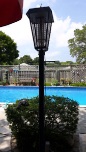 Bug Zapper with metal post